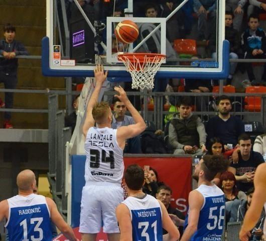 Kup Radivoje Korać 2019: Partizan - Novi Pazar (102:72)