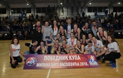 Košarkašice Partizana osvojile Kup