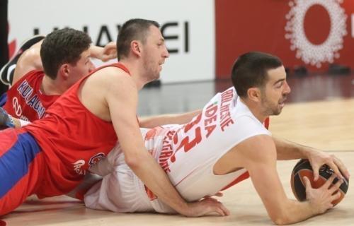 Zvezda se porazom od CSKA oprostila od Evrolige