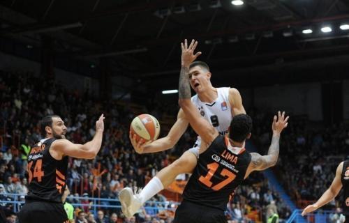 Pobeda Partizana u Zagrebu