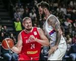 Košarkaši Srbije uz mnogo sreće pobedili Austriju