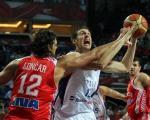 Srbija u četvrtfinalu