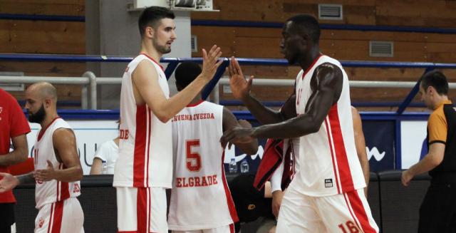 Crvena zvezda ubedljiva: AEK pao uz plus 31