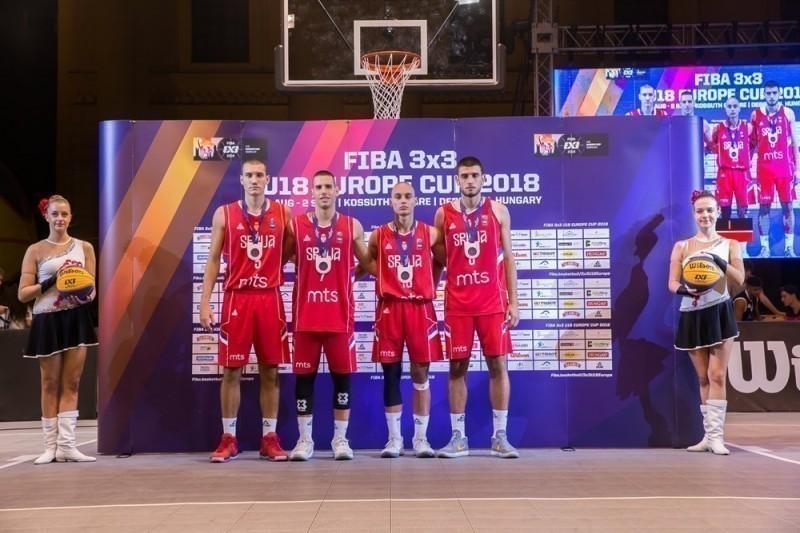 Srebro za 3x3 juniore na Evropskom prvenstvu