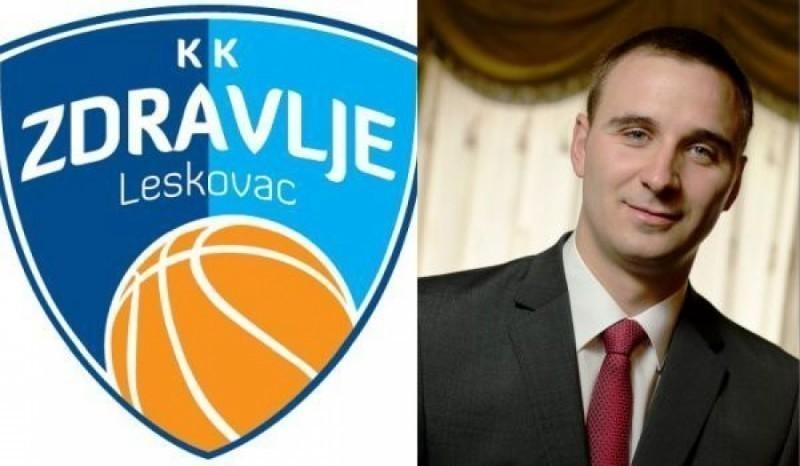 Petar Ilić izabran za menadžera KK Zdravlje Leskovac