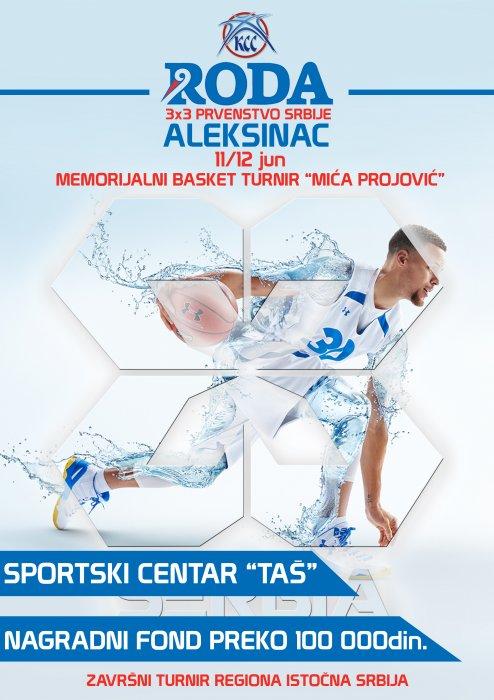 Šesti Memorijalni basket turnir Mića Projović