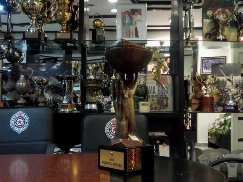 Saopštenje za javnost KK Partizan NIS: Igrači i uprava nisu skrnavili trofej