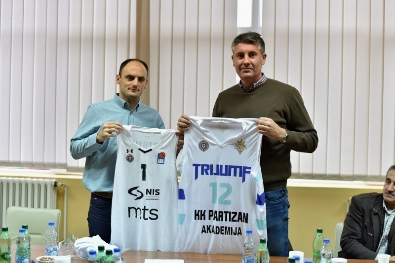 Trijumf iz Niša postaje akademija KK Partizan
